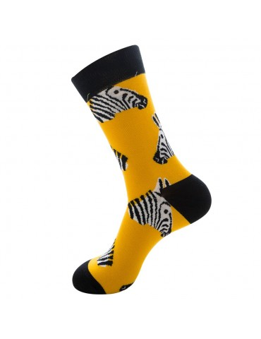 1 Pair Animal Series Comfortable Cotton Long Socks