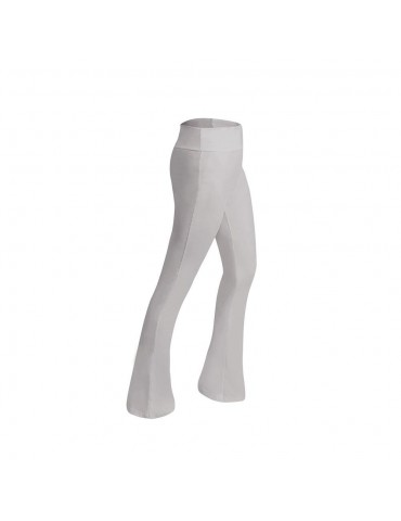 CK2218 Women Sports Fitness Yoga Pants Dance Practice Micro Horn Trousers Size 2XL - Gray