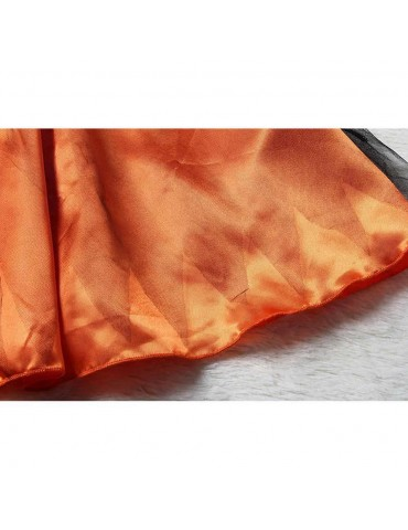 Halloween Costume Party Girls Cosplay Costume Dress Children's Dress Smock 150cm - Orange